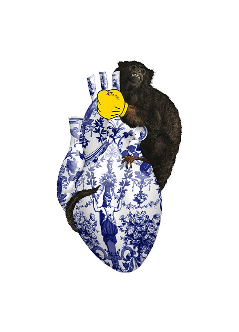 DELFT MONKEY HEART