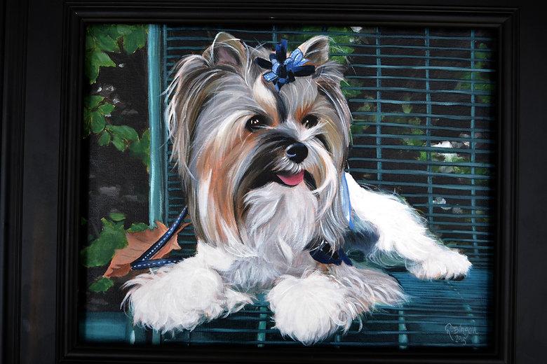 pet portraits, pet paintings