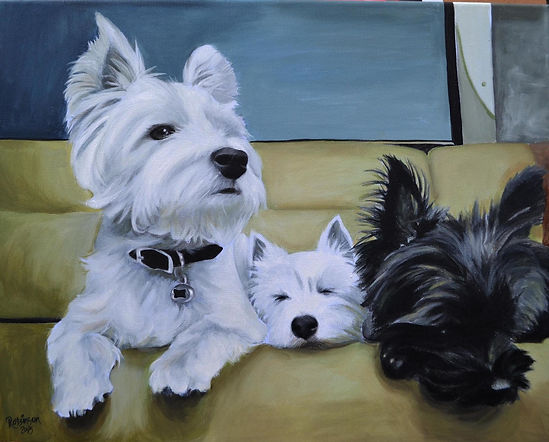 pet portraits, pet paintings