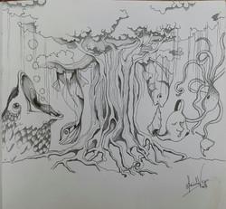 the sacred banyan