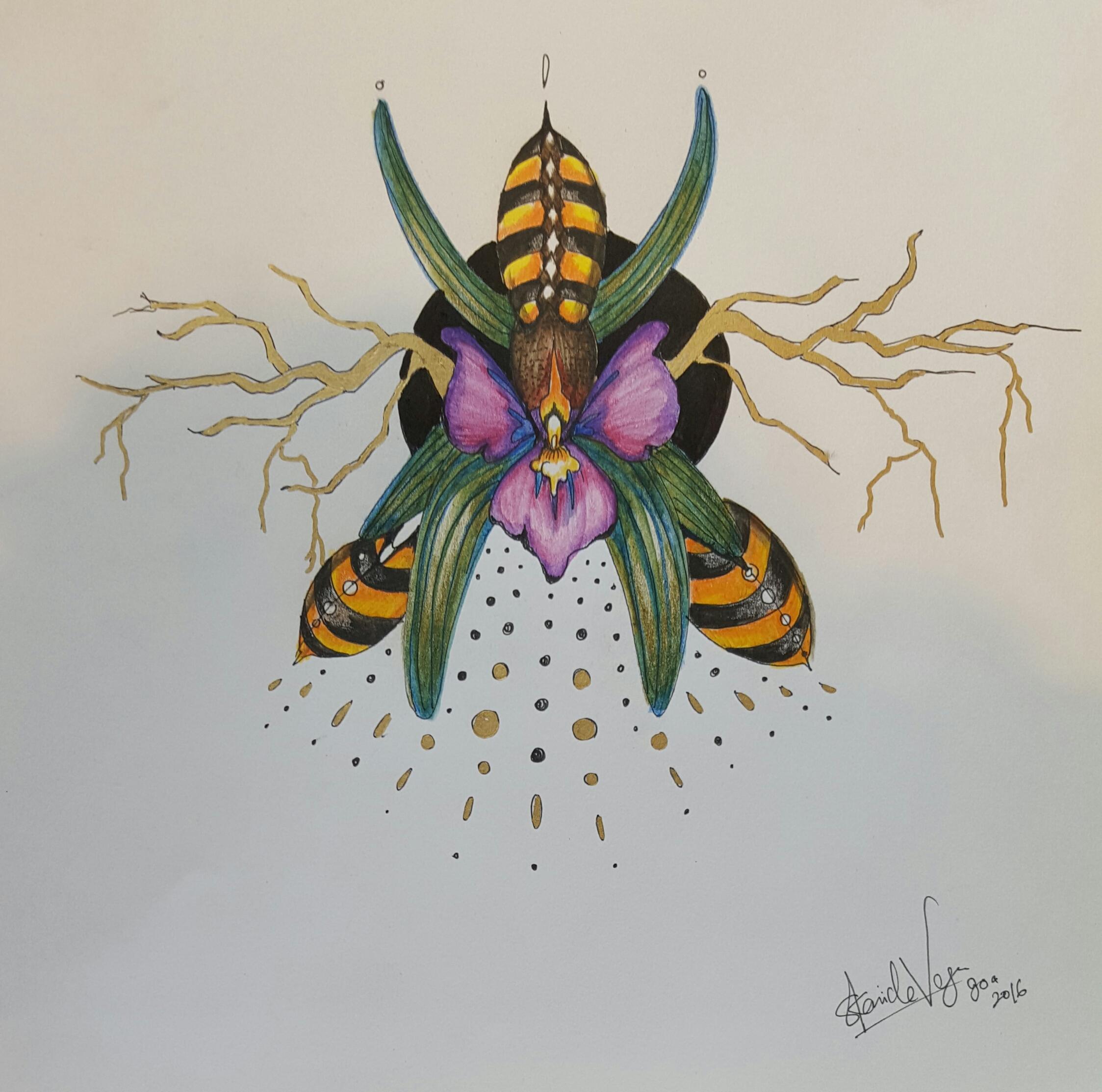 fleur d'abeille