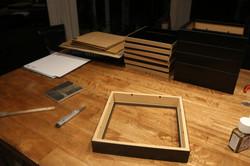 Preparing the frames