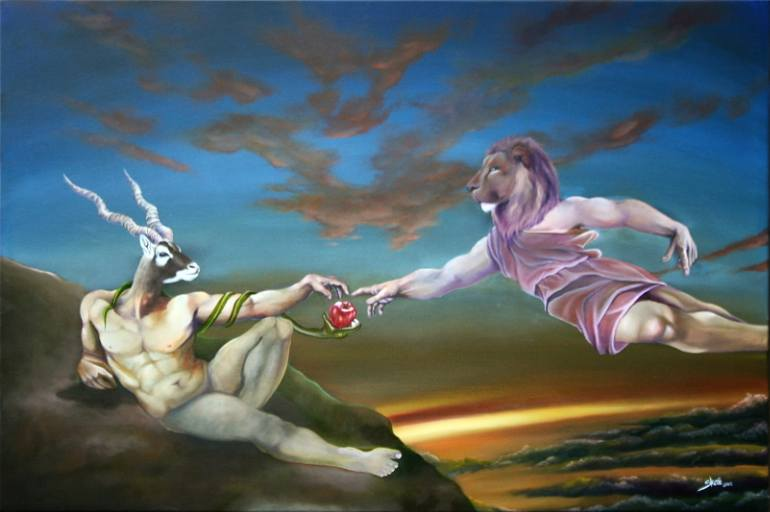Skaii's Creation of Adam