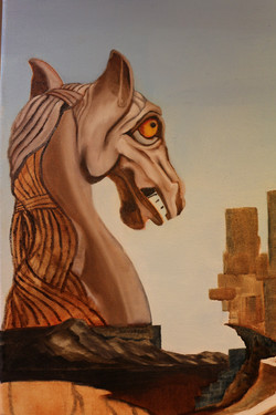 Painting the Apprehensive Knight.