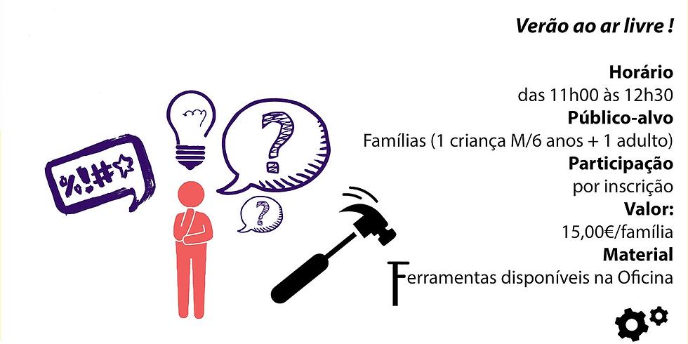 Workshop - Roda de Perguntas: Um oficina para avariar e consertar as palavras