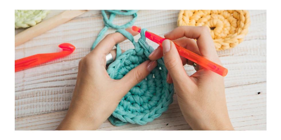 Clube do Chá : Crochet para Principiantes