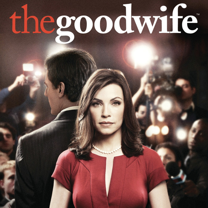 "Catch me on THE GOOD WIFE  ""Red Zone"" Season 6 Episode 8"
