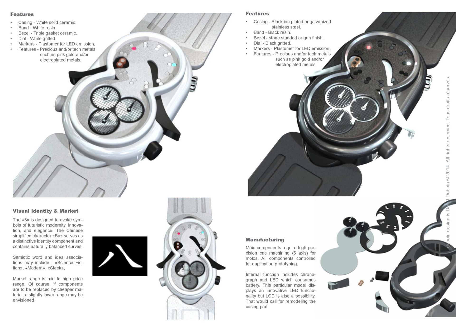 8 wristwatch