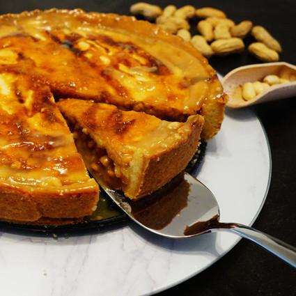 Erdnusskuchen