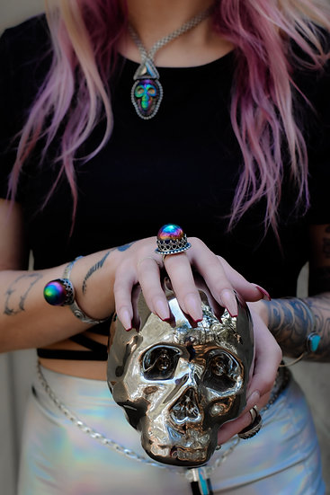 ORACLE -CRYSTAL BALL RING