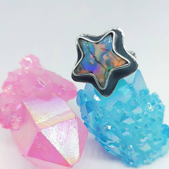 WISH UPON A STAR -MONARCH OPAL RING