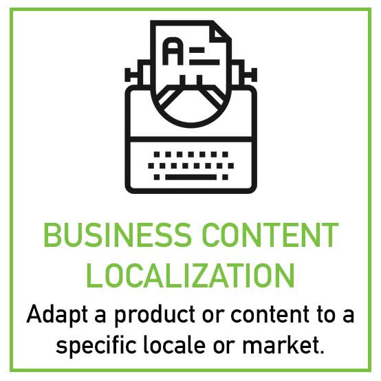Business Content Localization
