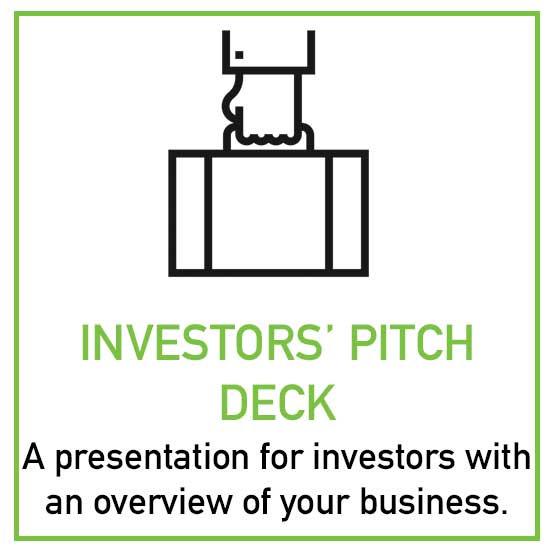 Investors' Pitch Deck