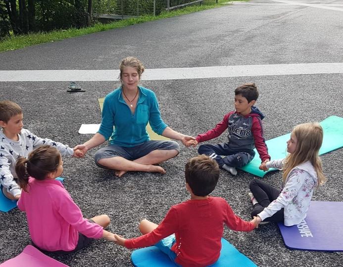 Shala espace de yoga et les kids