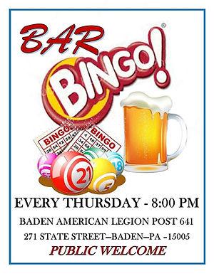 Bar Bingo 5