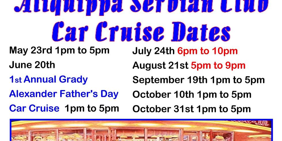 Aliquippa Serbian Club Car Cruise