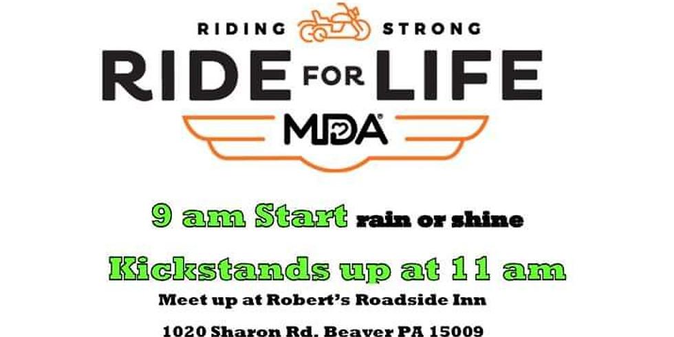 Ride for Life MDA Motorcycle Run