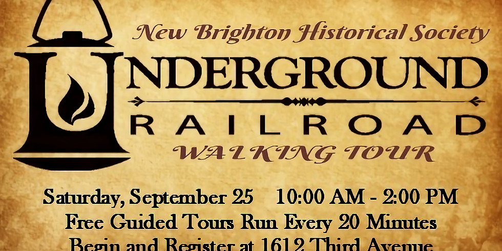 Underground Railroad Guided Walking Tour