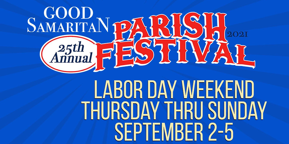 25th Annual Good Samaritan Parish Festival