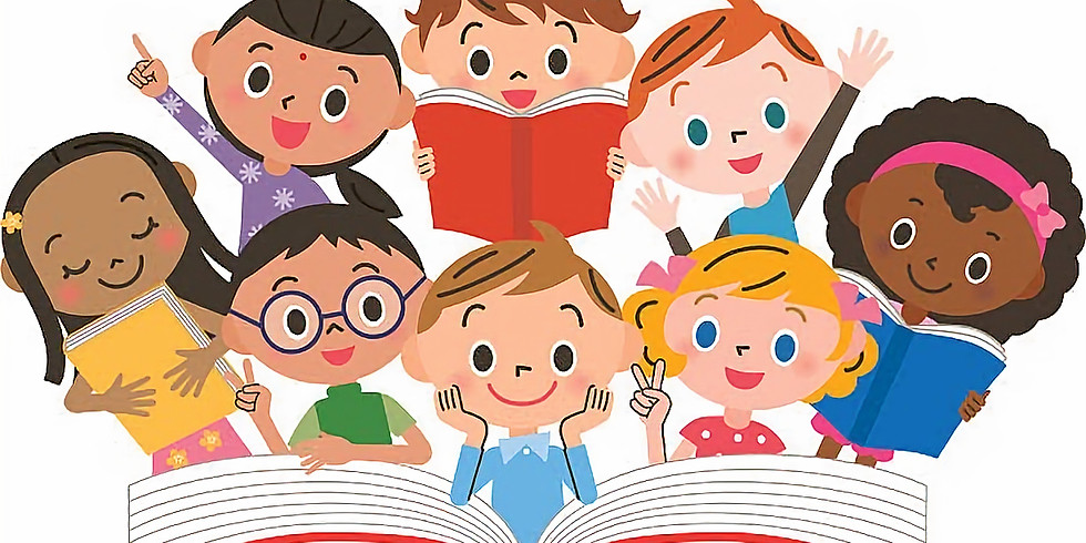 Tuesday Kid Time Story Time at Noon!