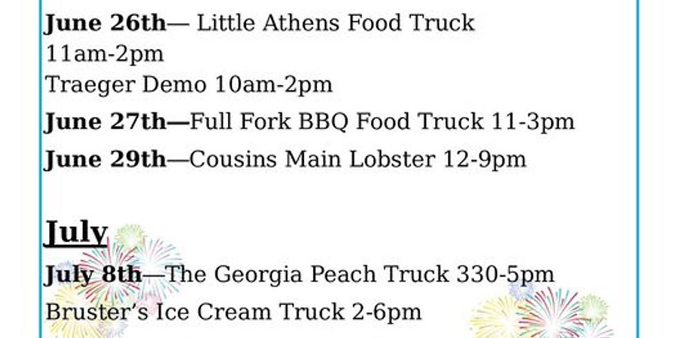 Hermes Food Truck & Blackstone Griddle Demo