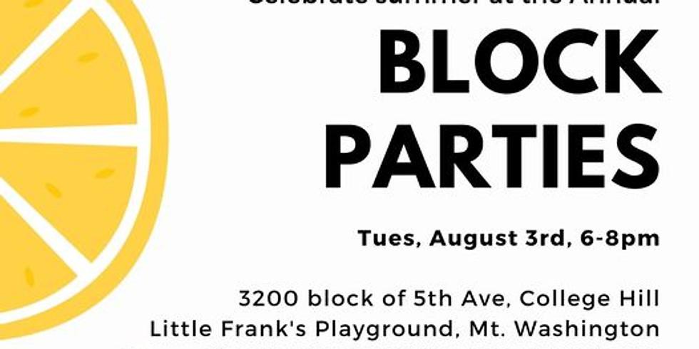 Annual Block Parties
