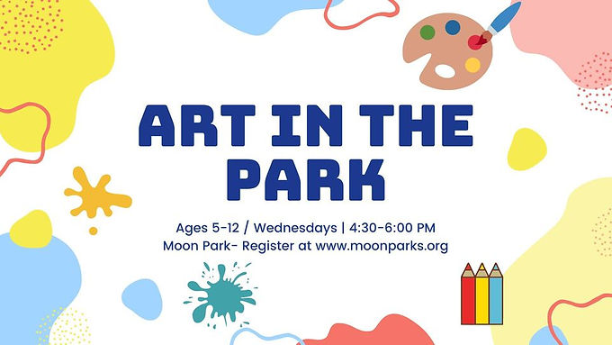 Art in the Park (Ages 5-12)