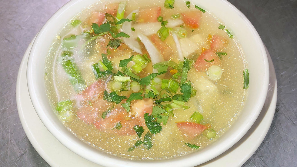 14. Tofu Soup