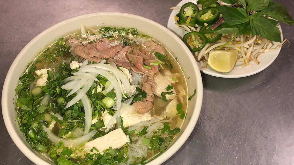98. Pho with Beef & Chicken