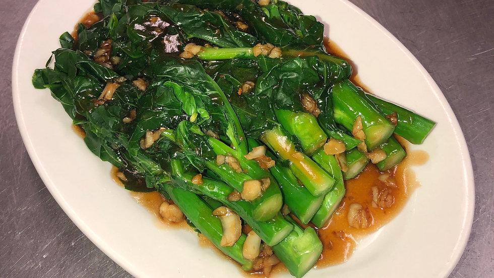 V13. Chinese Broccoli With Garlic Sauce
