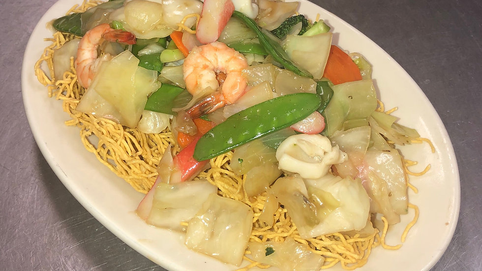 41A. Seafood Chow Mein