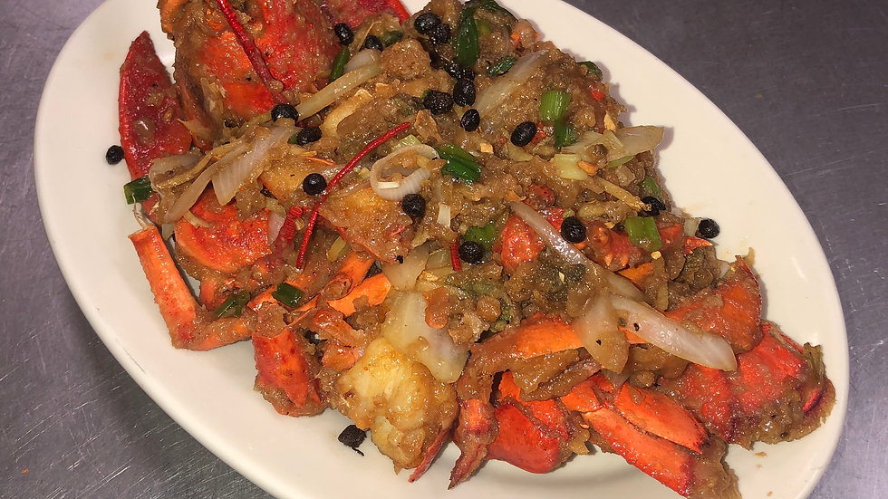 SF18. Lobster in Black Bean Sauce - Seasonal Price