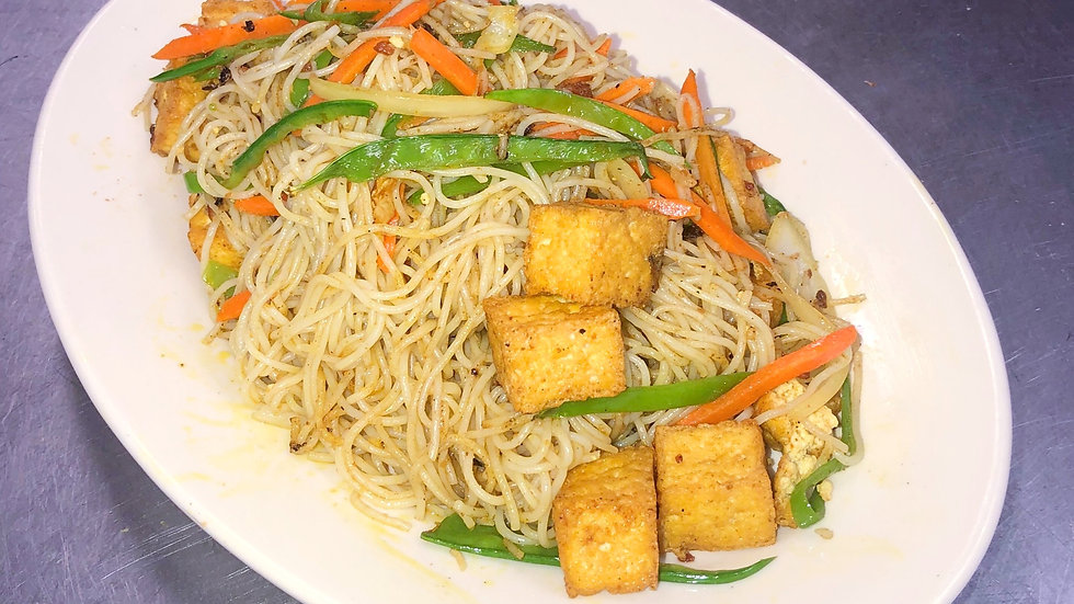 SN5. Singapore Noodles with Tofu