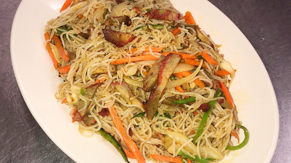 SN2. Singapore Noodles with Pork