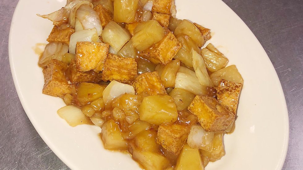 145. Tofu with Pineapple and Onions