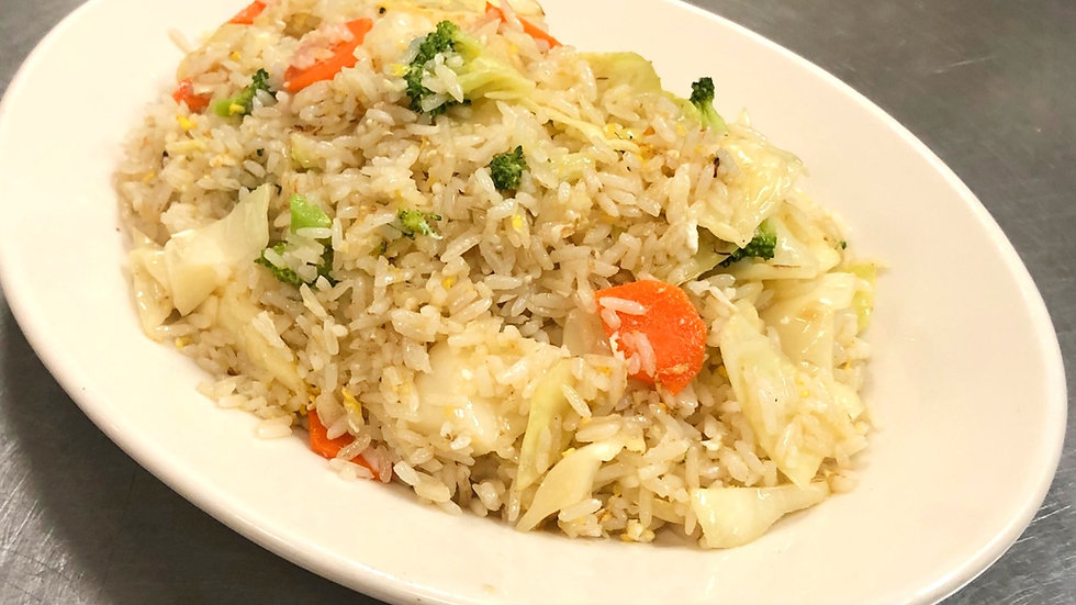 19. Vegetable Fried Rice