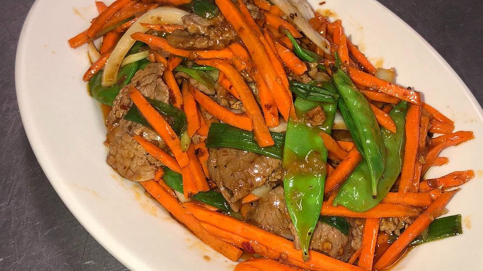 56C. Hot & Spicy Beef