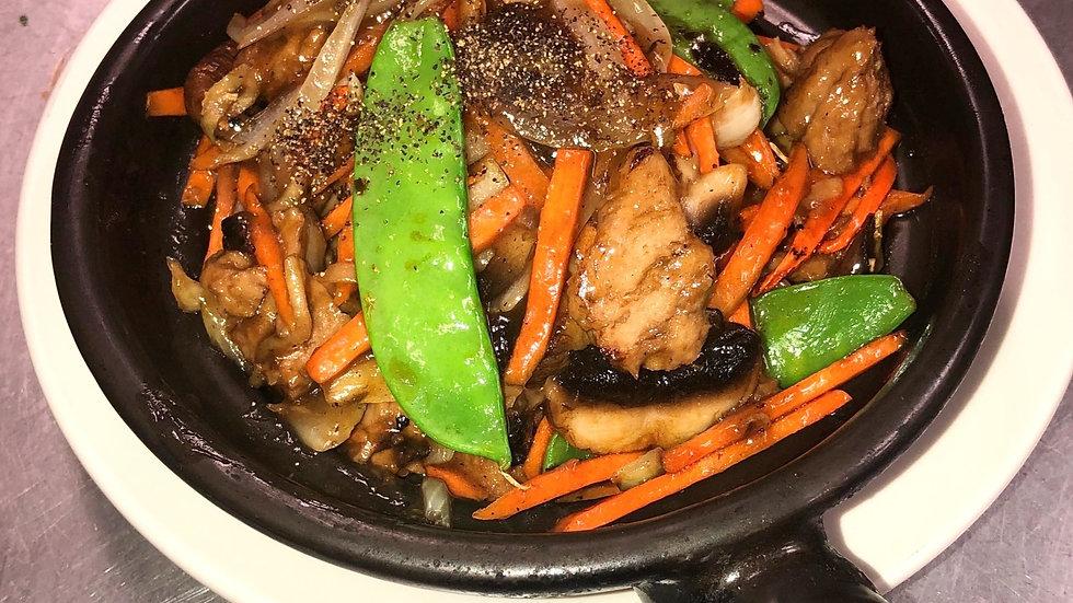 V5 Mock Duck (or Tofu) Hot Pot
