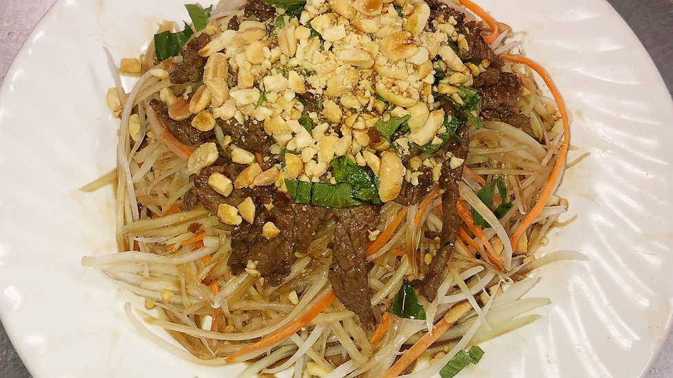 174. Vietnamese Papaya Salad with Beef