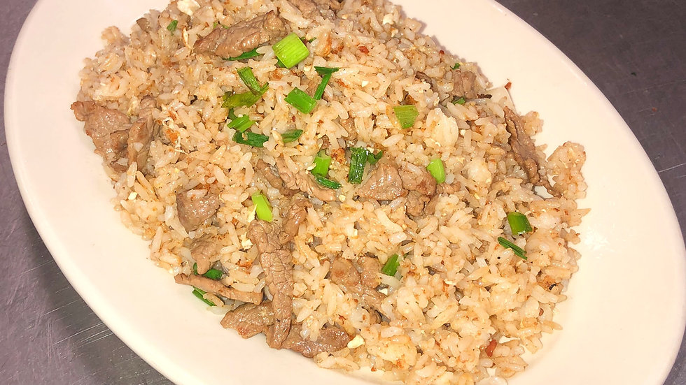 16A. Beef Fried Rice