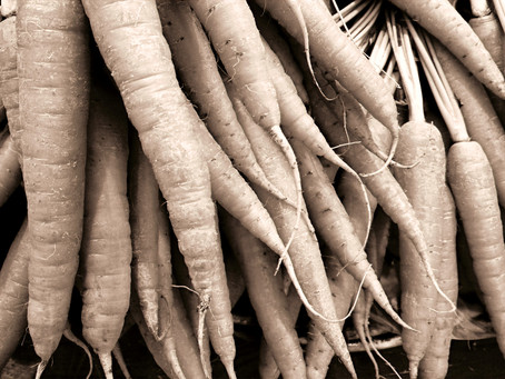 Möhren-Durch-Gemüse, bitte aufwärmen