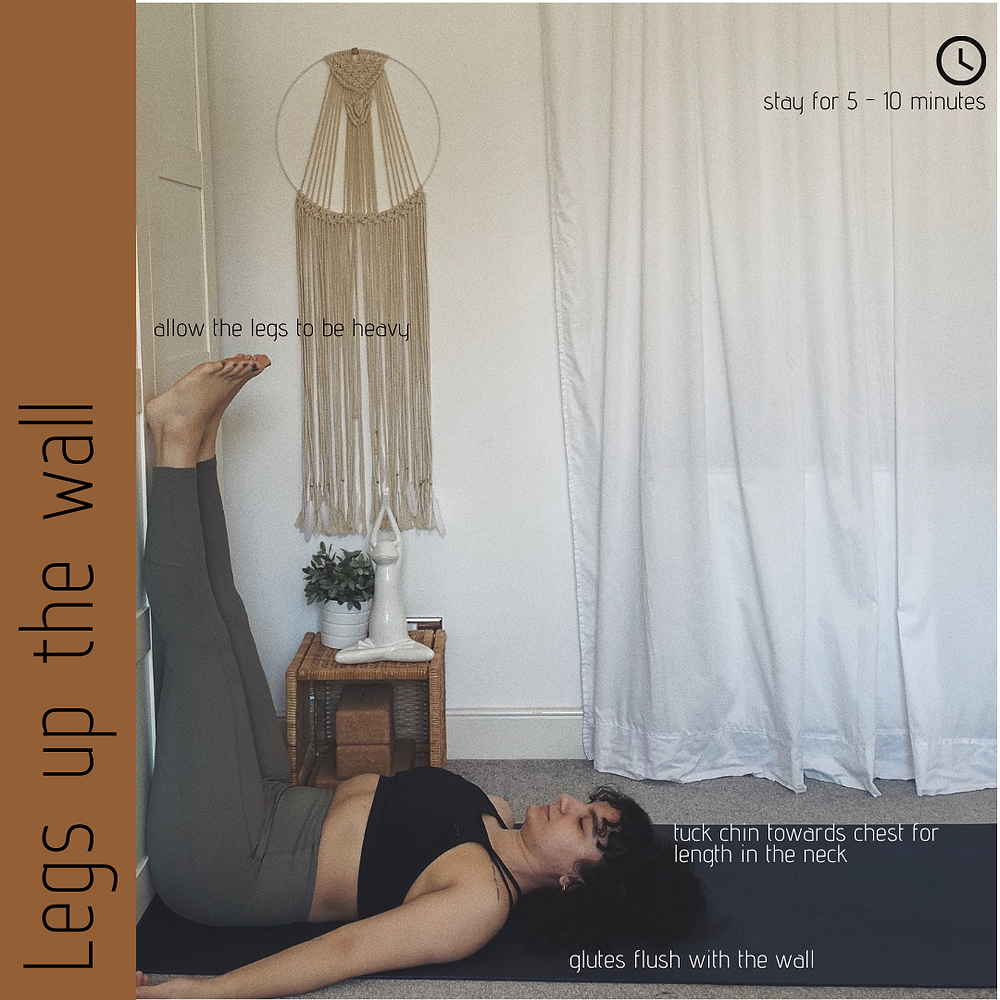 Legs up the wall - Yin Yoga