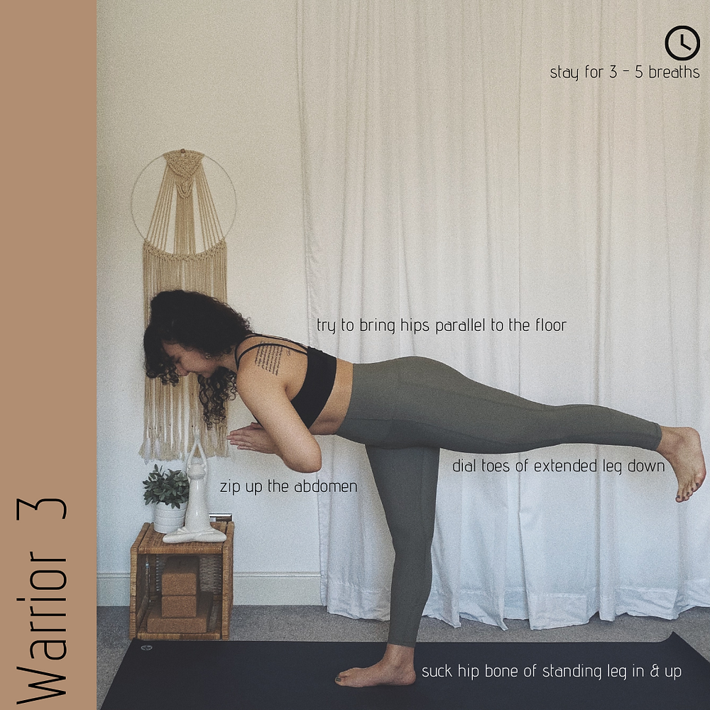 Warrior 3 - Virabhadrasana 3