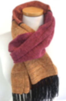 Chenille Scarf, Handwoven, Woven, Chenille, Scarf, Scarves
