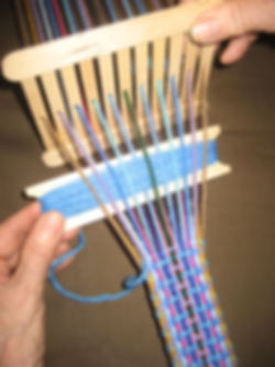 The Little Handweaver, Learn to weave, educational, craft