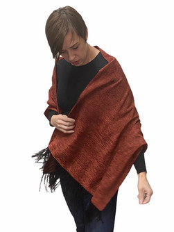 Solid Red Shawl