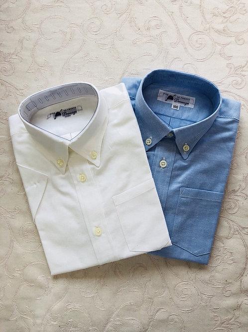 半袖、長袖ボタンダウンシャツ