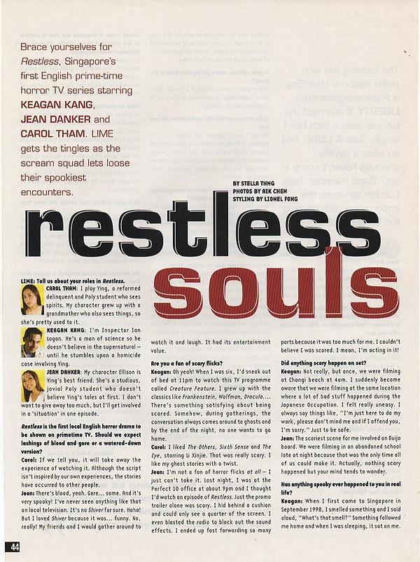 2002 KeaganKang LIME Restless Souls Stel