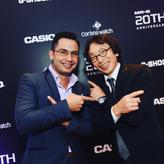 Casio G-Shock 20th Anniversary Launch Event