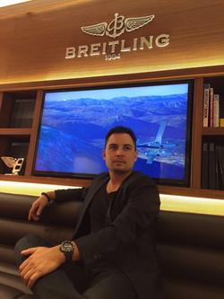 Keagan at Breitling